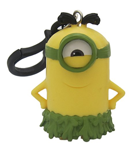 Hot Properties Minion Movie All Natural Minion 3D Plastic Figure Keychain-1 piece