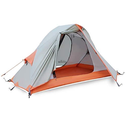 Utilisation multiple Sports de plein air Tente de protection solaire anti-pluie extérieure imperméable et respirante double poteau en aluminium coupe-vent Camping Camping pliant Équipement d'extérieur
