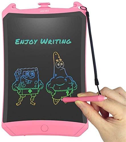 YONGYONGCHONG Schreibtafel-Handschrift-Brett Digital Writing Tablet LCD-Grafiktablett Grafik elektronischer Notizblock Stylus Comic Tier Bunte Anzeige Notizblock (Color : Pink)