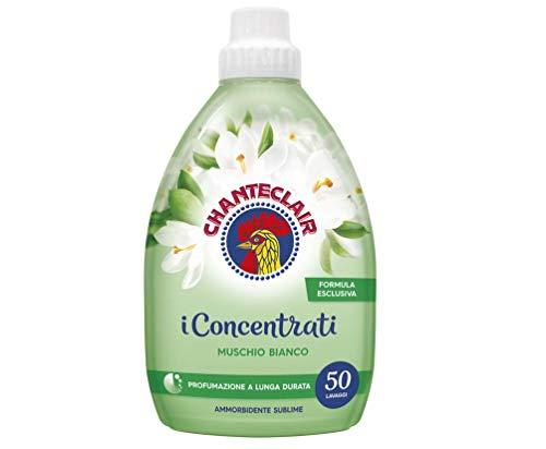 Chanteclair i Concentrati Sublime Muschio Bianco Lot de 6 adoucissants 1000 ml Parfum longue durée 50 lavages