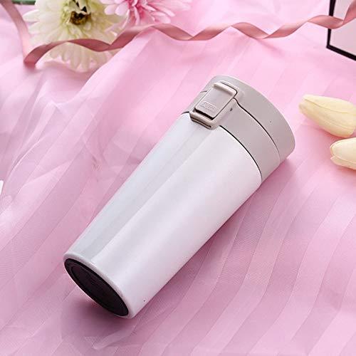 WZNB 380ml reisbeker voor koffie, thee, thermosfles, vacuümflessen van roestvrij staal, thermobeker, draagbare thermosflessen, drinkservies
