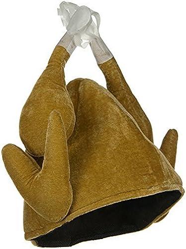 promociones de descuento Plush Plush Plush Roasted Turkey Novelty Thanksgiving Hat by Jacobson Hat Company  echa un vistazo a los más baratos
