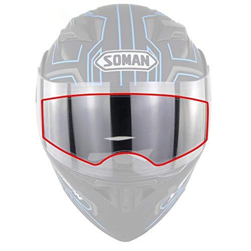 Alacritua Motorradhelm Antibeschlag Folie Helm Schutzfolien Klare Visier Scheiben Aufkleber Wasserdicht Schutzfolien Für Moto Linse Visier