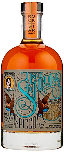 Rockstar Spirits Two Swallows Citrus and Salted Caramel Rum, 50 cl