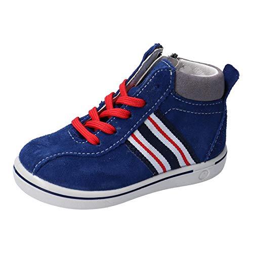 RICOSTA Kinder Lauflern Schuhe Johnny von Pepino, Weite: Mittel (WMS), Kinderschuhe Spielen detailreich Freizeit leger,mare,28 EU / 10 Child UK
