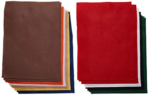 The New Image Group Classic Soft Felt 9-Inch by 12-Inch, 25/Pack (SFTFLT-49205)