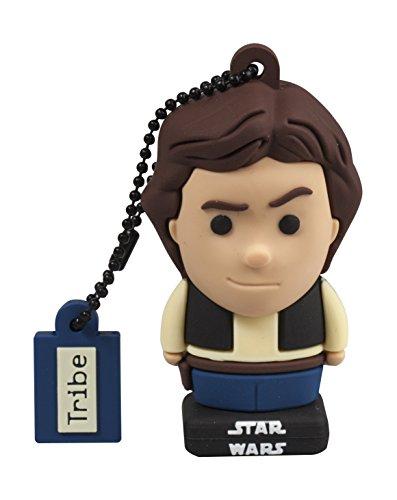 Llave USB 16 GB Han Solo - Memoria Flash Drive 2.0 Original Star Wars, Tribe FD030521