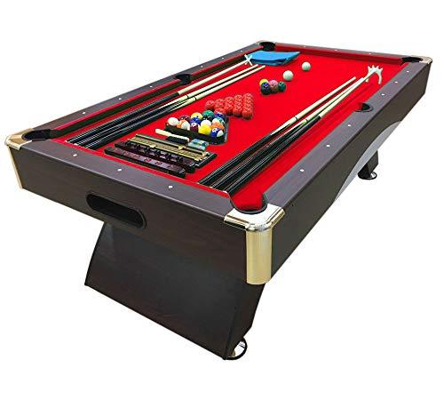 Mesa de billar juegos de billar pool 8 ft carambola FULL Medición 220 X 110 cm mod. CAESAR