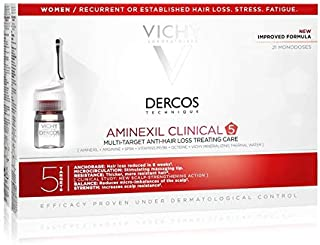 Vichy Dercos - Aminexil Clinical 5 Women 21 Single Doses x 6ml