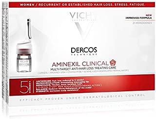 Vichy Dercos - Aminexil Clinical 5 Women 21 Single Doses x 6ml