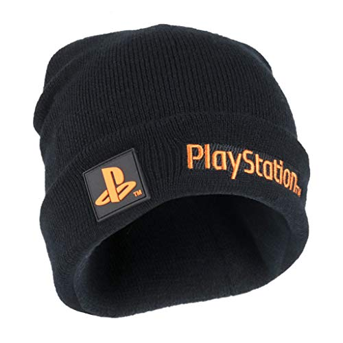 Playstation Logotipo del Texto niñas Beanie | mercancía Oficial | PS5 PS4 Gamer Cabritos del Sombrero, Ropa de Las Muchachas, la Idea del Juego Ventilador del Regalo de cumpleaños