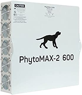 Black Dog LED PhytoMAX-2 600 Grow Lights | High Yield Full Spectrum Indoor Grow Light with Bonus Quick Start Guide