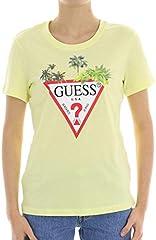 Guess Camiseta Manga Corta Mujer Palms Triangle