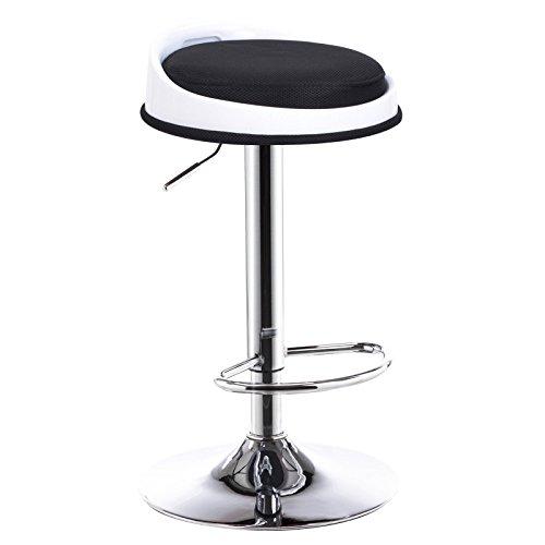 Ali@ Chaise de bar Chaise de bar Tabouret de style européen Chaise de bar Tabouret de bar Chaise avant (Couleur : NOIR)