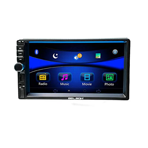 "Belson BS-252LX, DIN 7"" Radio FM RDS BT 