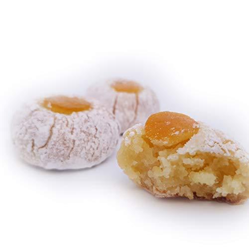 Feingebäck aus mandelpaste mit Orange, handgefertigt in Sizilien von einer alten Konditorei, mit hochwertigen sizilianischen Mandeln. SparPaket kg.1