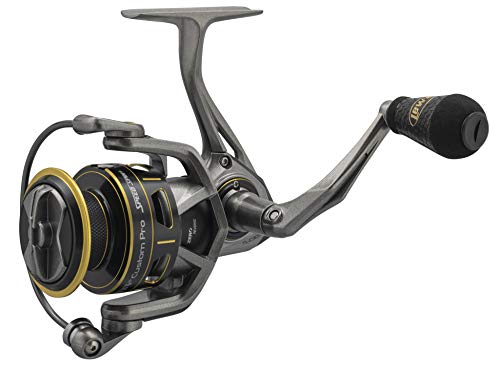 Lews Fishing, Custom Pro Speed Spin Spinning Reels, 6.2:1 Gear Ratio, 12 Bearings, 22 lb Max Drag, Ambidextrous, 160/10 (TLC3000)