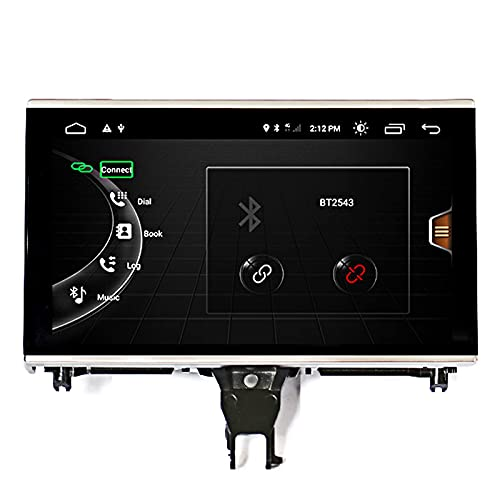 GPS Car Multimedia Player Android Car Stereo Navigator for Audi A6L 2005-2011 GPS Navigation System Head Unit SWC 4G WiFi BT Mirror Link USB Carplay Wireless Integrated