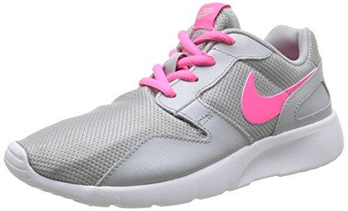 Nike Aishi (GS), Scarpe da Corsa Unisex-Kids, Grigio Gris Wolf Grey Hyper Pink White 006, 38 EU
