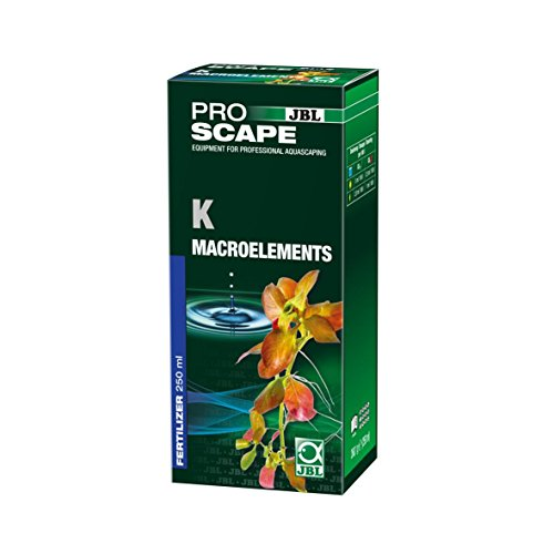JBL ProScape K Macroelements 2112000 Kalium - Pflanzendünger für Aquascaping, 250 ml