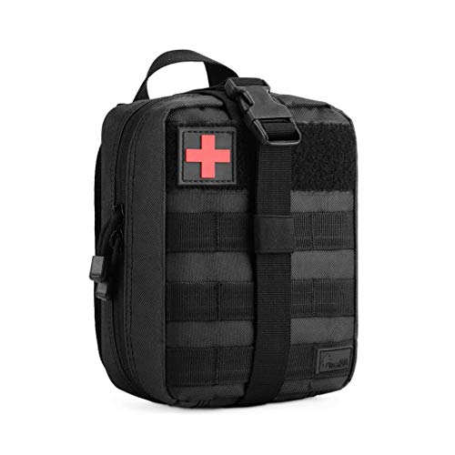 WOLF TACTICAL Molle First Aid Pouch - IFAK Pouch MOLLE...