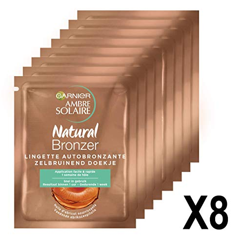 Garnier Ambre Solaire Natural Bronzeur Lingettes...