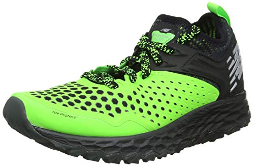 New Balance Fresh Foam Hierro v4, Zapatillas de Running para Asfalto para Hombre, Verde (RGB Green/Black R4), 43 EU