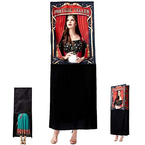Disfraz De Halloween Adivino Adulto Juego De rol Fiesta De Baile Brujera Adivinacin Disfraz De Mujer