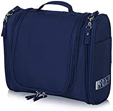 House of Quirk Canvas Toiletry Bag (Navy Blue_DUNDES-HEAVY_TOILETRY_KIT_NAVYBLUE)