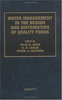Water Management in the Design and Distribution Quality of Foods: ISOPOW7