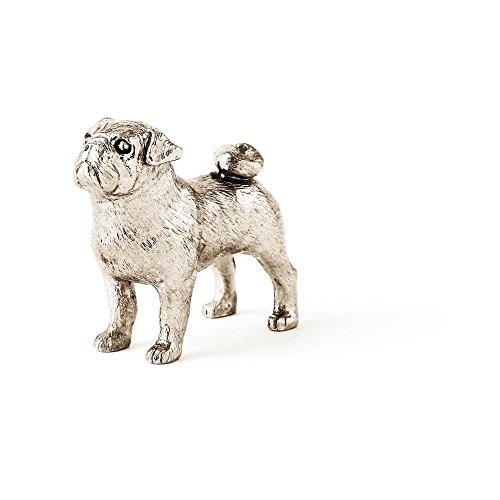 DOG ARTS JP Carlino Made in UK, Collezione Statuetta Artistici Stile Cani