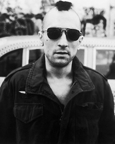 Erthstore 11x14 inch Fine Art Print of Robert De NIRO in Sunglasses with Mohawk by Cab Taxi Driver