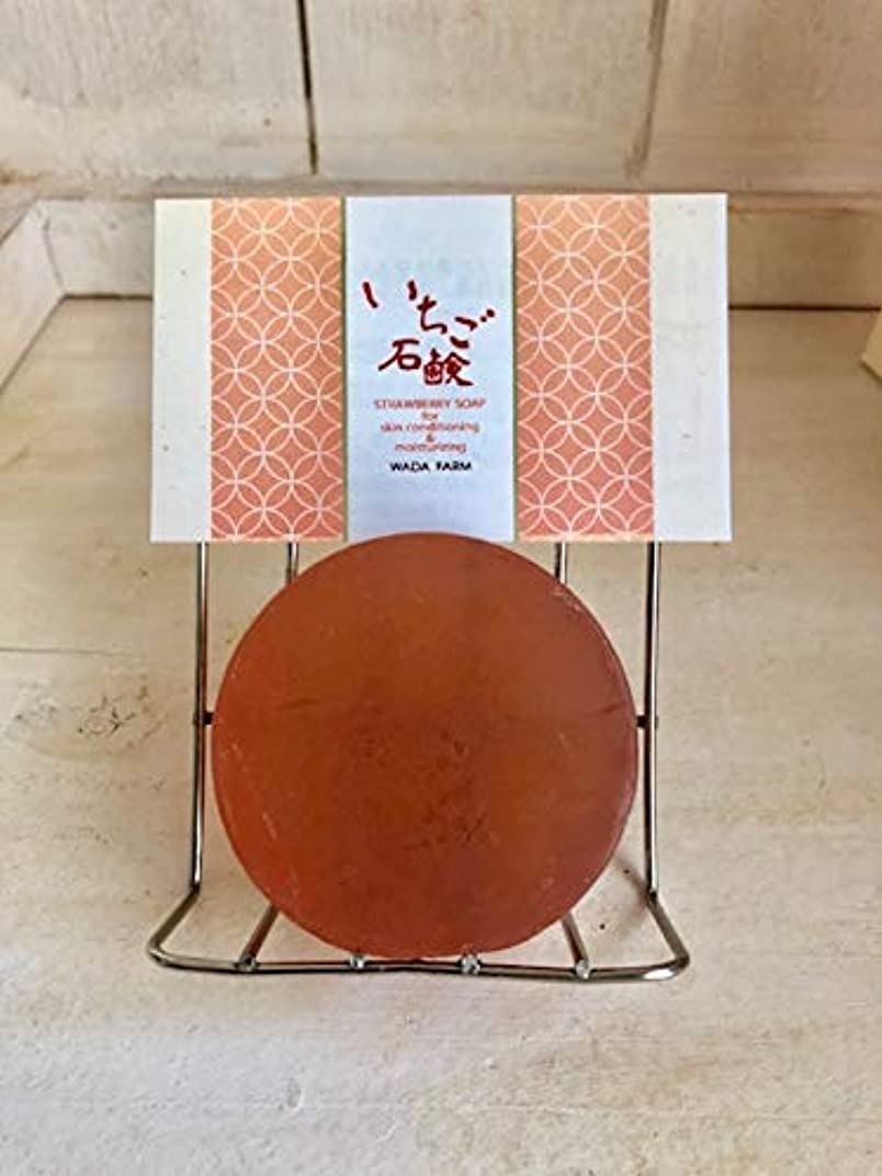 ニンニク想起扇動する和田農園のいちご石鹸 40g