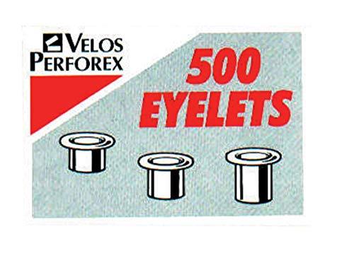 Rexel Oeillets de Poinçonnage Boulons Laiton 4,7 mm de diamètre 4,2 mm Longueur [Lot de 500]