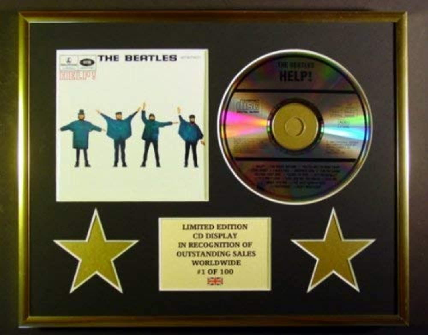 THE BEATLES CD-Darstellung    Limitierte Edition COA HELP  B006WQKFPQ 59011a