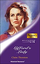 Gifford's Lady (Mills & Boon Historical): Claire Thornton