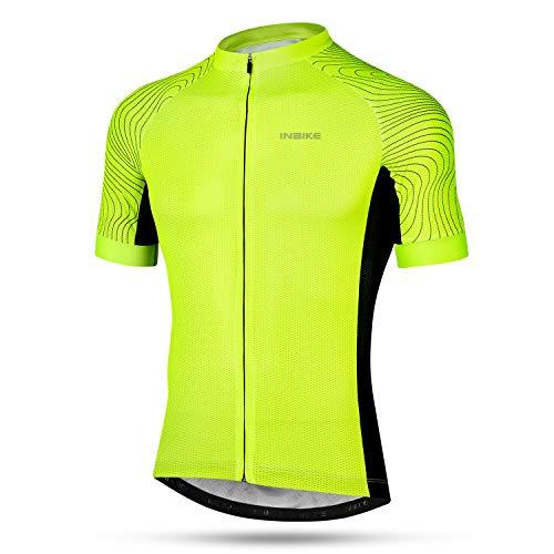 INBIKE Maillot Ciclismo Hombre Verano Camiseta Bicicleta Man