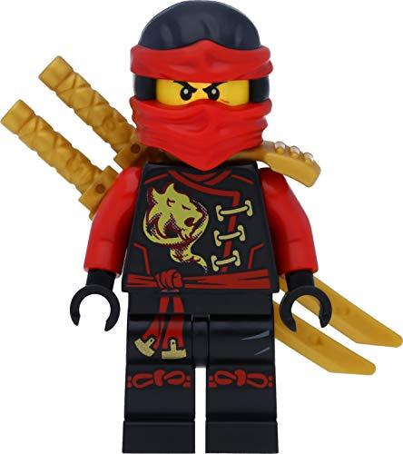 LEGO Ninjago Minifigur: Kai mit goldenem Schwerthalter und Schwertern (Luftpiraten / Skybound)