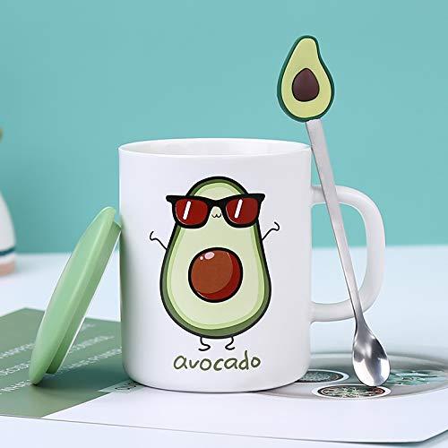 Dong Individuelle Tassen-Personalisierte Kaffeetassen Mit Deckel Und Löffel-