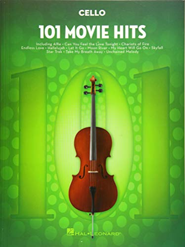 101 Movie Hits -For Cello-: Noten, Sammelband für Cello