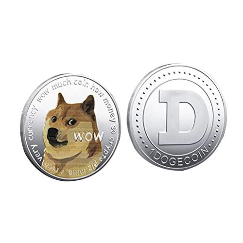 Urisgo Coin Dog Coin Kit con Estuches Protectores Entusiastas de Las Monedas Juegos Decoración