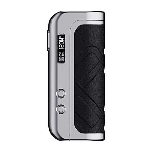 Augvape Foxy One 120W Box Mod Akkuträger Farbe Silber-Schwarz-Leder