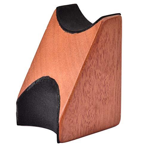 HelloCreate Apoyo para el cuello de guitarra, almohada 2 en 1 para guitarra, instrumento de cuerda para el cuello, herramienta Luthier