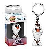 Funko- Portachiavi Frozen II Olaf Figura da Collezione, Multicolore, 40905