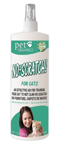 Pet Organics (Nala) CNB04116 No Scratch Spray, 16-Ounce