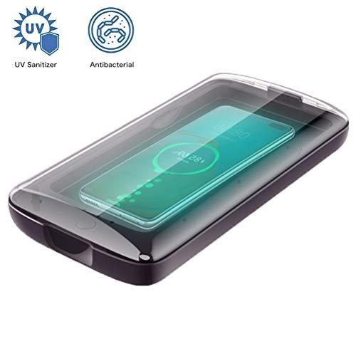 WBLin Scatola sterilizzatore Domestico e disinfezione ozono con Lampada germicida a Raggi ultravioletti Sterilizzazione UV Sanificazione per Cellulare, Biancheria Intima, Maschera