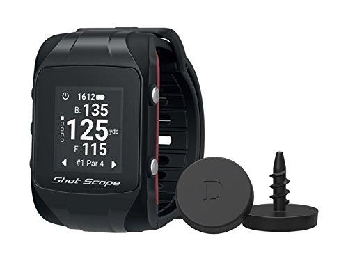 Shot Scope V2 Reloj de Golf Unisex con GPS y Sistema de Seguimiento de Rendimiento automatizado