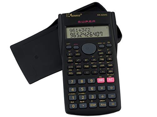 ISO TRADE Wissenschaftlicher Taschenrechner Rechner Bürorechner 240 Funktionen 1271