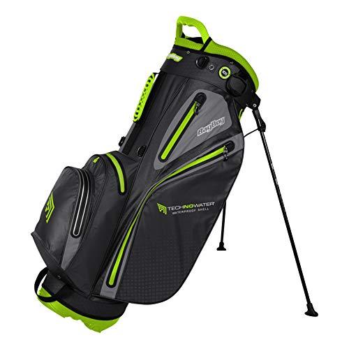 Bagboy Unisexe de Technowater Rapids Sac de Golf avec Support Taille Unique Black/Charcoal/Lime