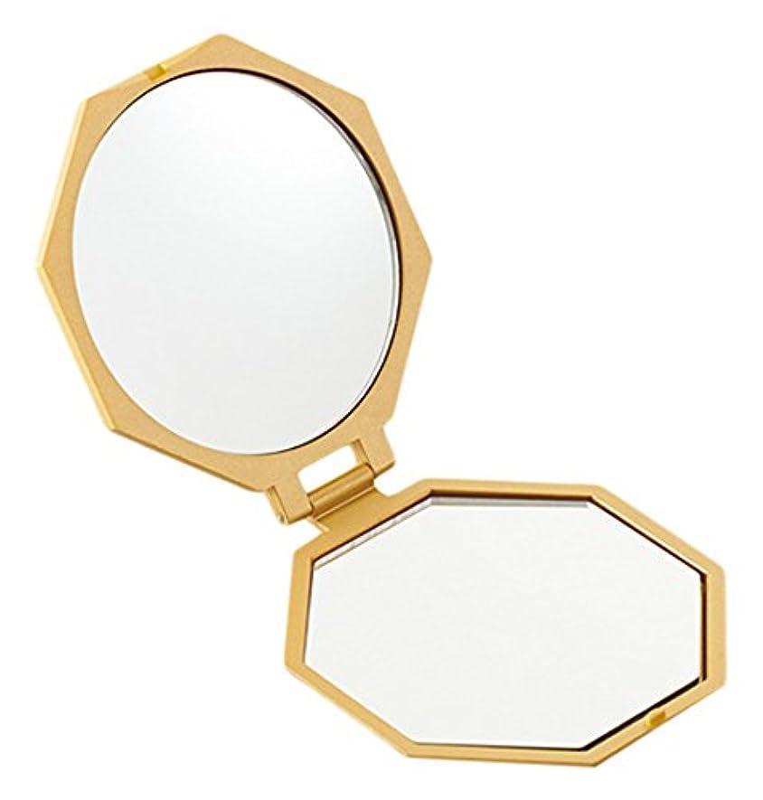 調子花婿常にアイメディア 10倍拡大鏡コンパクト八角ミラー